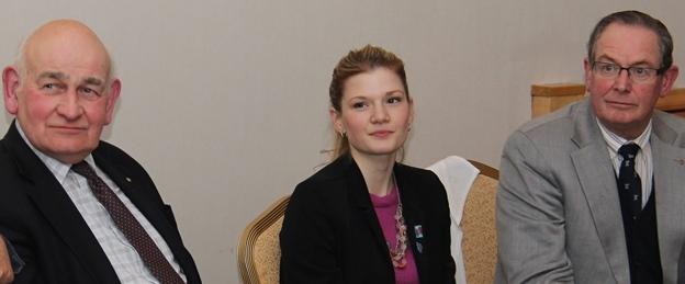 Rotary Ambassadorial scholar Taylore visits Slough
