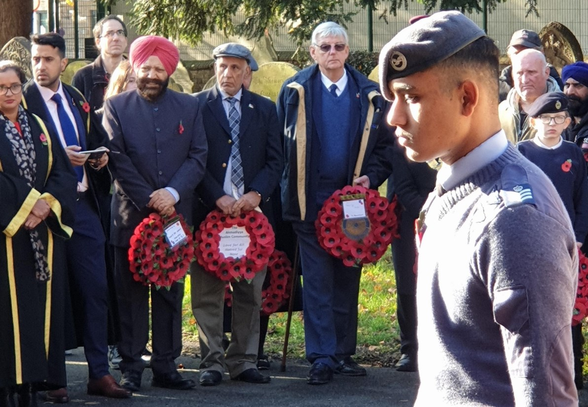Slough Rotary honour the brave