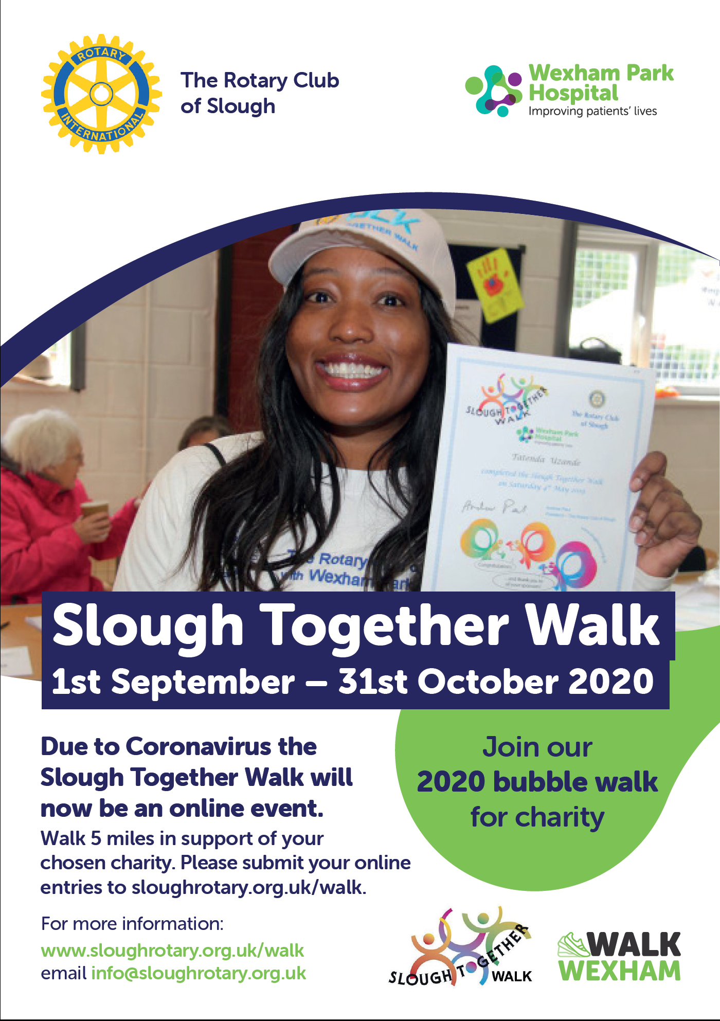 Slough Rotary Together Walk is back on
